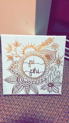 Pi beta phi big little crafting