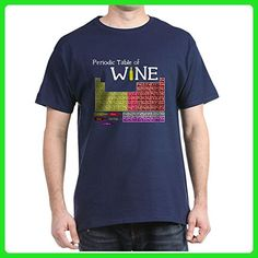 CafePress - Periodic Table Of Wine - 100% Cotton T-Shirt - Food and drink shirts (*Amazon Partner-Link)