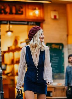 Free People Summer Vibes Your sultriest summer–ever. Calling all globetrotters and sunseekers: we curated a one-stop shop for all your summer getaways. SEE DETAILS Fall Outfits, Summer Outfits, Fashion Outfits, Womens Fashion, Fashion Trends, Barett Outfit, Looks Style, My Style, Mode Lookbook