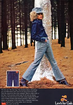 Levi's ad featured in Teen magazine, April 1969 1960s Fashion, Vintage Fashion, Denim Blog, Colleen Corby, 70s Costume, Vintage Tags, Vintage Advertisements, Retro Ads, Vintage Levis