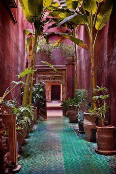 Morocco. Traditional Islamic Architecture.