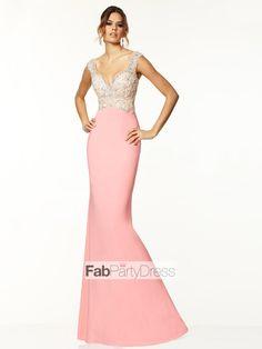 Trumpet / Mermaid Beading  Satin Prom Dresses / Evening Dresses