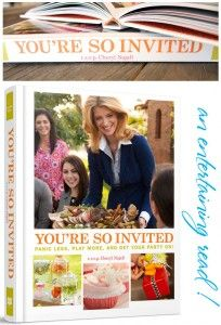 'You're So Invited' Party Planning Book Vegan Blueberry, Local Library, Easy Entertaining, Your Turn, Book Recommendations, Cheryl, Party Planning, Growing Up, First Love
