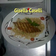 Seafood spaghetti with grilled lemon butter fish tonight?