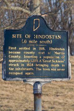 South of Loogootee, Indiana.