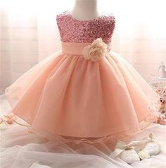 Department Name: BabyGender: Baby GirlsDresses Length: Knee-LengthDress Style: SweetFit: Fits true to size, take your normal sizeActual Images: YesDecoration: S