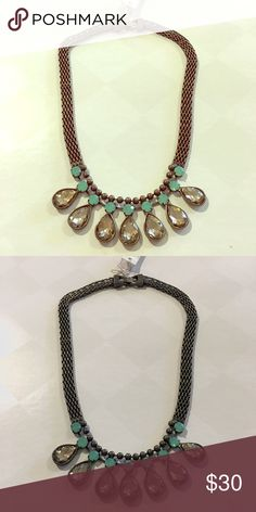 Jeweled boutique j crew style necklace New with tags! l.marie Jewelry Necklaces