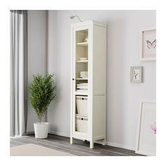 Hemnes bookcase white stain ikea pinterest hemnes for Hemnes ikea vitrina