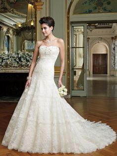 David Tutera - Mindy - 212246 - All Dressed Up, Bridal Gown