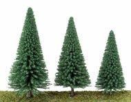"Walthers Scenemaster HO 949-1180 Pine Trees 3-3/8"" (10) Brick Paper, Model Train Layouts, Models, Model Trains, Cactus Plants, Backdrops, Pine, Scenery, Trees"