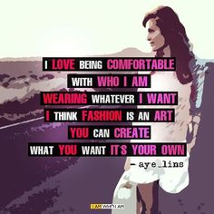 Our follower @aye_lins has shared her thoughts with us #beyourself #iamwhoiam #love #pride #fashion