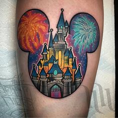 Disney tattoo | Disney Tattoos | Pinterest | Disney ...