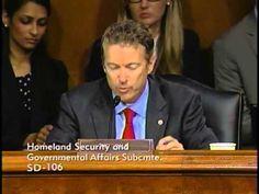 Sen. Paul's Remarks at HSGA Committee Hearing- 5/21/2013