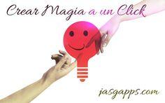 Crear magia a un click! www.jasgapps.com /Diseño web Creativo en Murcia.