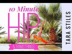 Hip Opening and Hamstring Yoga Tara Stiles Yoga, Hamstring Yoga, Get Moving, Playlists, Healthy Mind, Yoga Fitness, Goal, Mindfulness, Amp