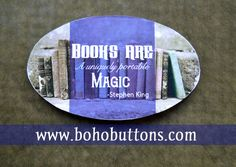 Book Sticker Reading Decal Sticker Author Decal by BohoButtonShop
