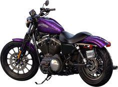 Harley-Davidson Sportster 883 Purple | 2014 Harley-Davidson Sportster Iron 883 - Hard Candy Voodoo Purple ...