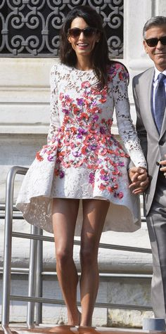 Amal Clooney's Most Stylish Looks Ever - September 28, 2014  - from InStyle.com