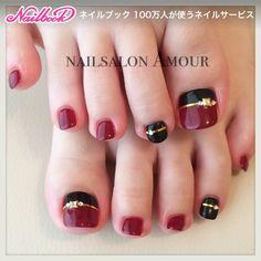 Gel Toe Nails, Feet Nails, Toe Nail Art, Pedicure Designs, Pedicure Nail Art, Toe Nail Designs, Pretty Toe Nails, Cute Toe Nails, Toe Nail Color