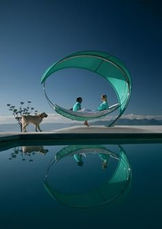 Wave may be the most luxurious hammock you'll ever rock in. Designed by Erik Nyberg and Gustav Strom and manufactured by Royal…