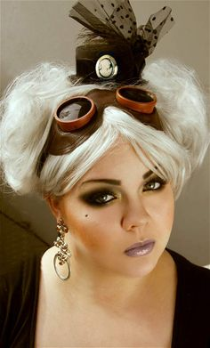 Makeup your Jangsara: Look for Fun: Steam punk...this blog is awesome and she tells you where she buys everything