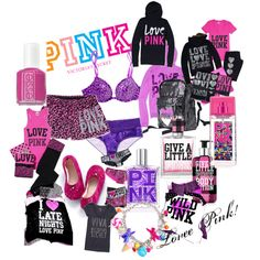 Call me weird, but Victoria's Secret is legitimately my favorite store. Vs Pink Outfit, Pink Outfits, New Outfits, Cute Outfits, Rosa Victoria Secret, Rainbow Outfit, Rainbow Clothes, Pink Wardrobe, Lazy Day Outfits