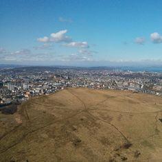 Arthur's Seat in Edinburgh, Edinburgh