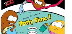 Betty Bladder Potty Time Game. Free game for kids to teach them about their bodies.
