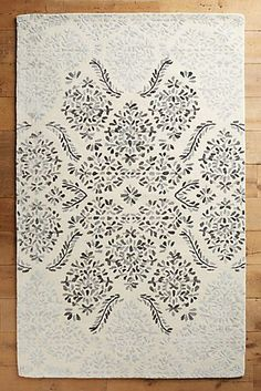 Discover unique rugs, area rugs, doormats and runners at Anthropologie, including the season's newest arrivals. Wall Carpet, Rugs On Carpet, Living Room Carpet, Rugs In Living Room, Staircase Carpet Runner, Rug Placement, Farmhouse Living Room Furniture, Farmhouse Decor, Natural Fiber Rugs