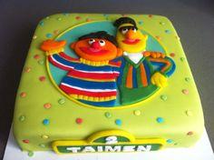 Bert and Ernie birthday cake - Torte per Tutti