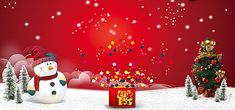 Christmas New Year background, Gift Boxes, Creative Christmas, Christmas Tree, Background image