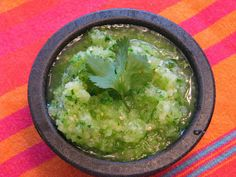 TheFultonGirls: Pineapple Salsa Verde - like Abuelo's Salsa Verde, Copycat Recipes, New Recipes, Cooking Recipes, Favorite Recipes, Mexican Dishes, Mexican Food Recipes, Mexican Meals, Sauces