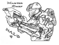 Lego Halo Coloring Pages To Print
