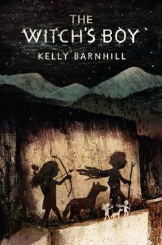<2014 pin> The Witch's Boy by Kelly Barnhill. SUMMARY: When a Bandit King comes to take the magic that Ned's mother, a witch, is meant to protect, the stuttering, weak boy villagers think should have drowned rather than his twin summons the strength to protect his family and community, while in the woods, the bandit's daughter puzzles over a mystery that ties her to Ned.