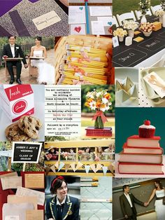 weddings for book lovers