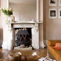 Modern victorian living room more