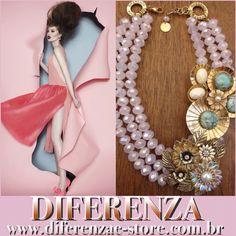 DIFERENZA VERÃO 2016  www.diferenzae-store.com.br  #diferenza #diferenzaverao2016 #diferenzaonline #flowers #stones #crisopazios #pérolas #pearls #romantic #spring #icecream #fashionjewellry #luxurydetails #colaresdiferenza #candycolors #colors verao2016 #colaresincriveis  #statementnecklace #necklace #saopaulo #moda #mulheresnamoda #bijoux #acessoriosfemininos #esmeralda #joia #mulherespoderosas #luxo #acessoriosfemininos #bijoux