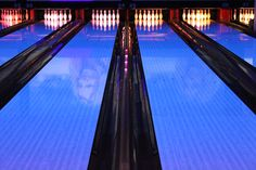 The pins, the arrangement of the pins, and the lanes themselves
