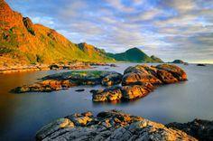 Nordland. Lofoten Islands. Norway
