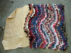 Rag Rug To The Finish! Awesome DIY