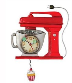 Amazon Oddities 8/21/16 -- Stand Mixer Clock http://www.mashupmom.com/amazon-oddities-82116-stand-mixer-clock/