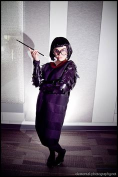 """Edna """"E"""" Mode from the Incredibles...for Theresa."""