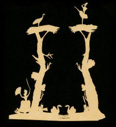 papercuttings by Hans Christian Andersen