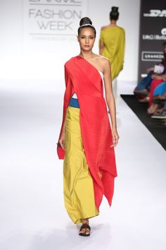 Summer/Resort 2014 Indian Dresses, Indian Outfits, Indian Clothes, Tribal Fashion, Asian Fashion, Payal Khandwala, The Office Shirts, Lakme Fashion Week, Modest Outfits
