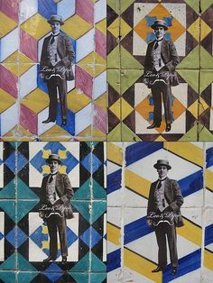 Azulejos in Lisboa, Portugal