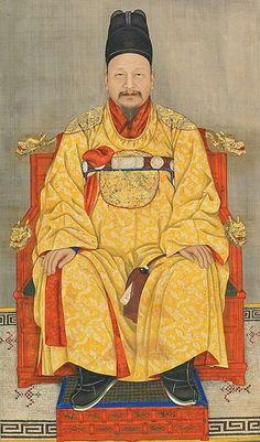Portrait of Emperor Gojong (age 49)