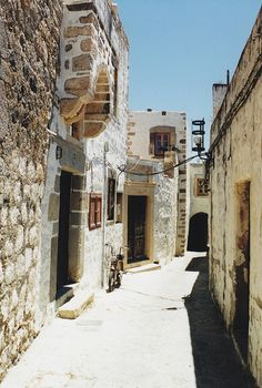 Streets of Patmos, Greece (by Monica Forss ) Beautiful Islands, Beautiful Places, Places Around The World, Around The Worlds, Forever Travel, Cyprus Greece, Italian Summer, Europe Photos, Paradise On Earth