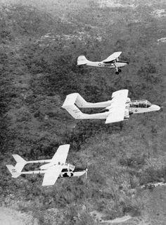 OV-1 Forward air control in the Vietnam War.