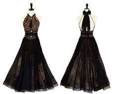 Black Beauty - Encore Ballroom couture