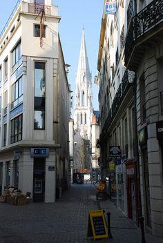 Nantes Little Britain, Great Britain, France Europe, France Travel, Monuments, Nantes France, Ville France, Belle Villa, Kirchen